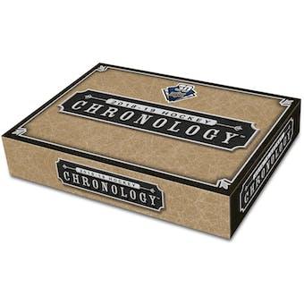 2018/19 Upper Deck Chronology Volume 1 Hockey Hobby Box (Presell)