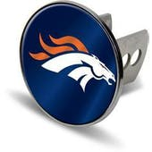 "Denver Broncos Rico Industries 4 "" Laser Trailer Hitch Cover"