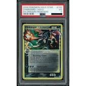 Pokemon EX Dragon Frontiers Charizard Gold Star 100/101 PSA 3