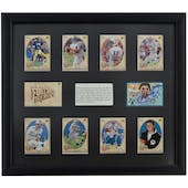 Dan Marino Miami Dolphins UDA Autographed Framed Heroes of Football Trading Card Set