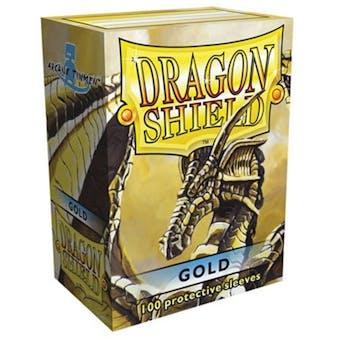 Dragon Shield Card Sleeves - Gold (100)