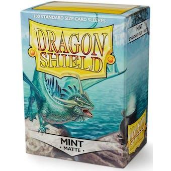 Dragon Shield Card Sleeves - Matte Mint (100)