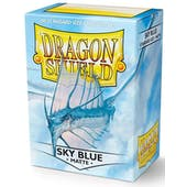 Dragon Shield Card Sleeves - Matte Sky Blue (100)