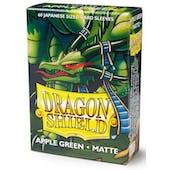 Dragon Shield Yu-Gi-Oh! Size Card Sleeves - Matte Apple Green (60)