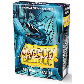 Dragon Shield Yu-Gi-Oh! Size Card Sleeves - Matte Petrol (60)