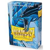 Dragon Shield Yu-Gi-Oh! Size Card Sleeves - Matte Sky Blue (60)