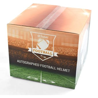 2018 Hit Parade Autographed Full Size Football Helmet Hobby Box - Series 43 - Montana, Rice, & Craig Helmet!