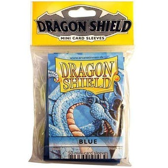 Dragon Shield Yu-Gi-Oh! Size Card Sleeves - Blue (50 Ct. Pack)