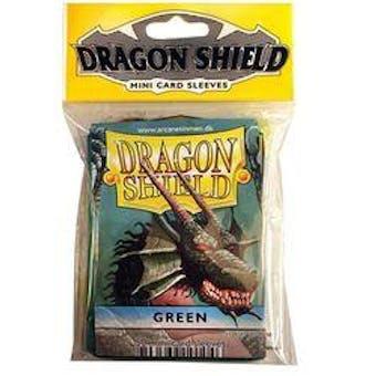 Dragon Shield Yu-Gi-Oh! Size Card Sleeves - Green (50 Ct. Pack)