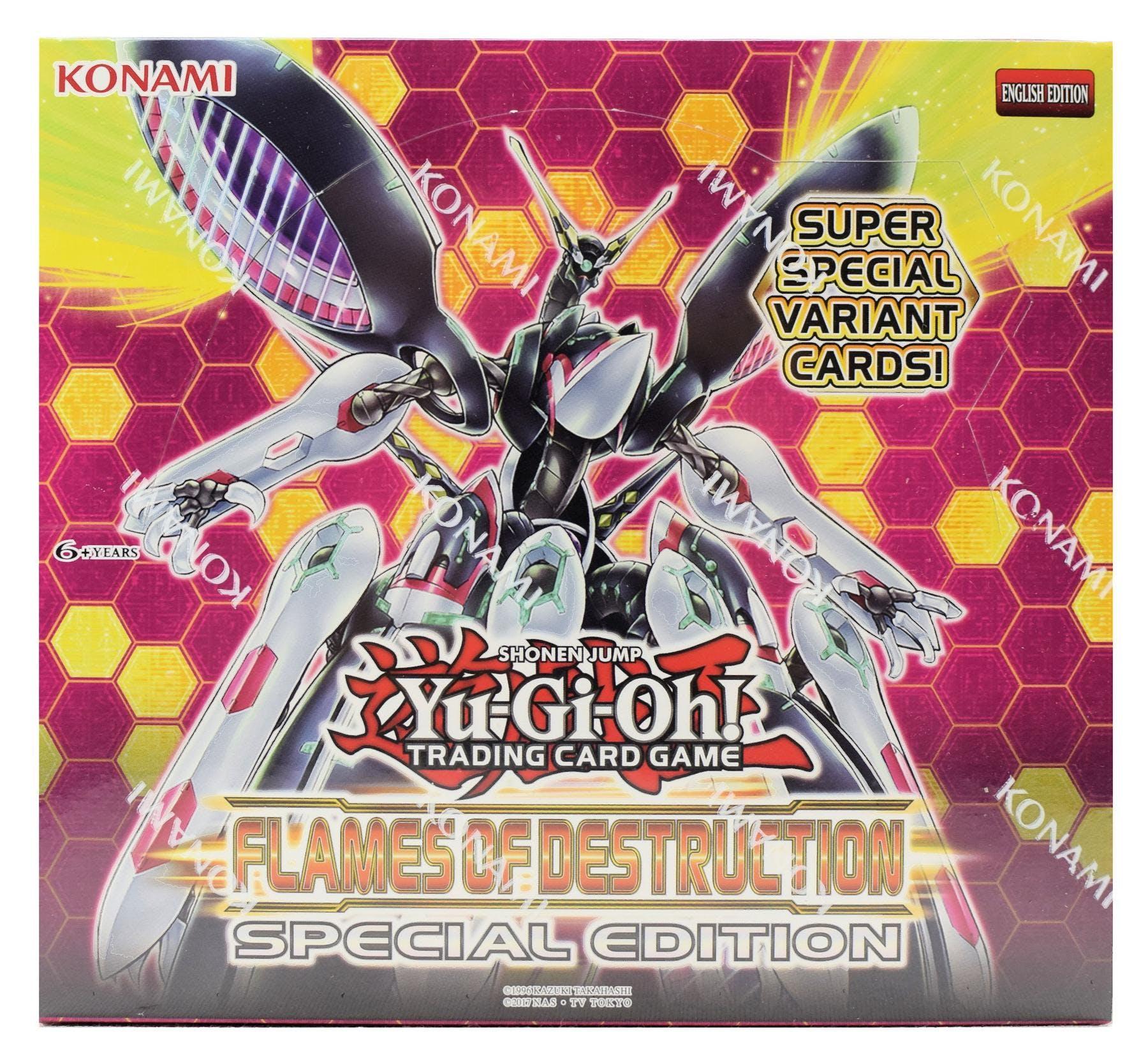 Yu-Gi-Oh Flames Of Destruction Special Edition 10-Deck Box