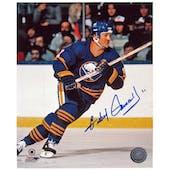 Gilbert Perreault Autographed Buffalo Sabres Helmet 8x10 Hockey Photo
