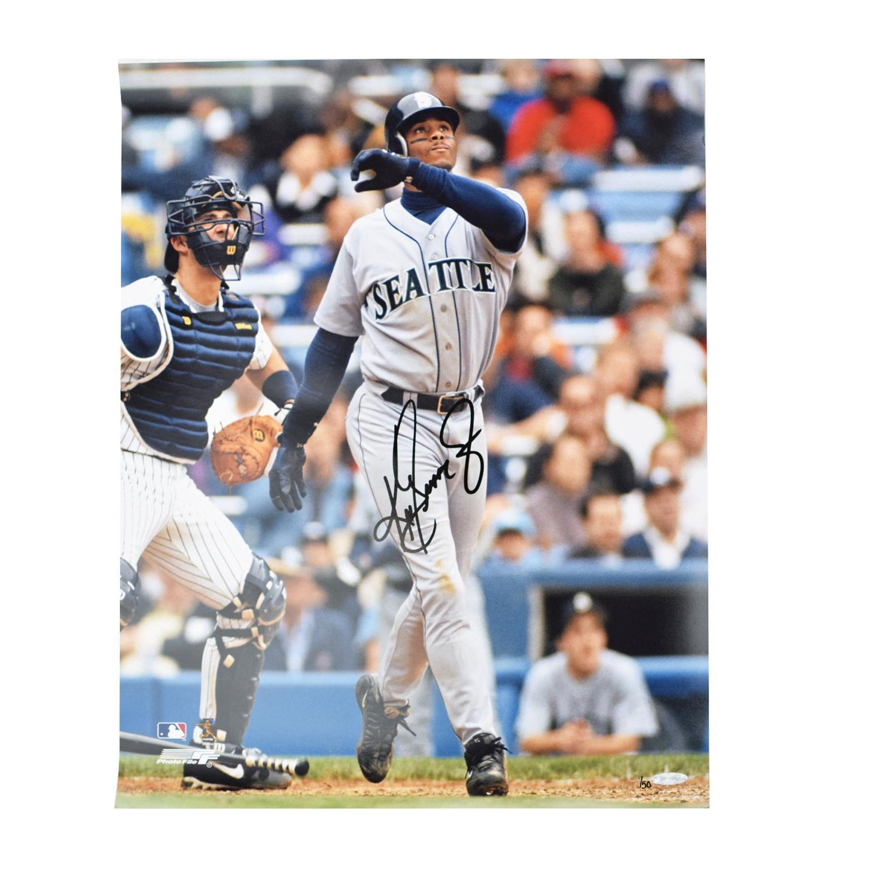 83a0ab7faf Ken Griffey Jr Seatlle Mariners UDA Autographed Stadium 16 x 20 Photo LE  /50 | DA Card World