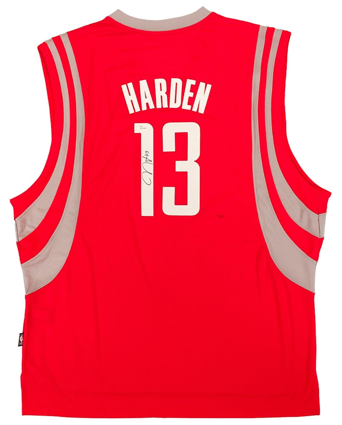 James Harden Autographed Houston Rockets Basketball Jersey (JSA ... 463b3eab6