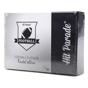 2018 Hit Parade Football Platinum Limited Ed Ser 5 Case- New Year 10 Spot Random Hit Break #1