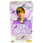 Justin Bieber Blaster 9-Pack Box (2010 Panini)