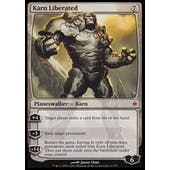 Magic the Gathering New Phyrexia Single Karn Liberated - SLIGHT PLAY (SP)