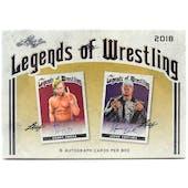 2018 Leaf Legends of Wrestling Hobby Box