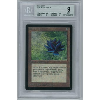 Magic the Gathering Beta Black Lotus BGS 9 (9.5, 8.5, 9, 9)