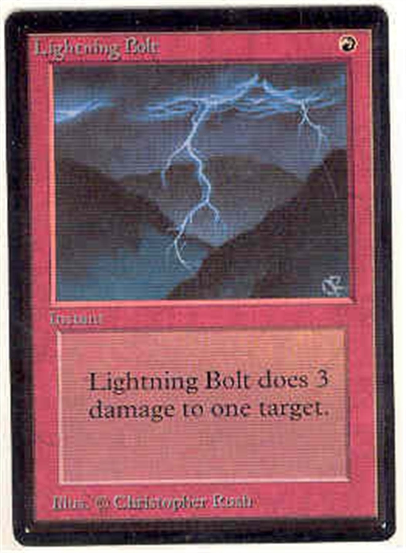 Alpha Auto Sales >> Magic the Gathering Beta Single Lightning Bolt - NEAR MINT (NM) | DA Card World