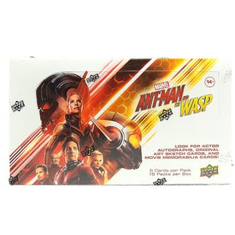 Marvel Ant-Man & The Wasp Hobby Box (Upper Deck 2018)
