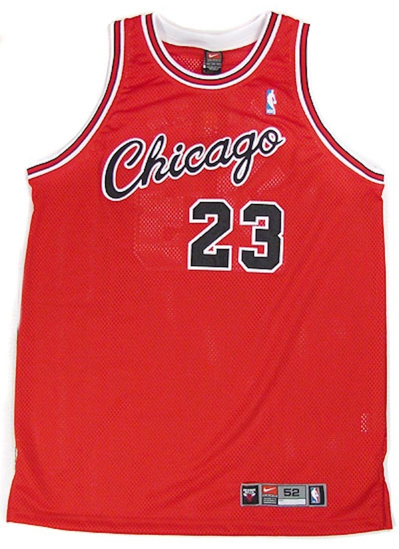 7fa1f218912 Michael Jordan Autographed Chicago Bulls Throwback Authentic ...