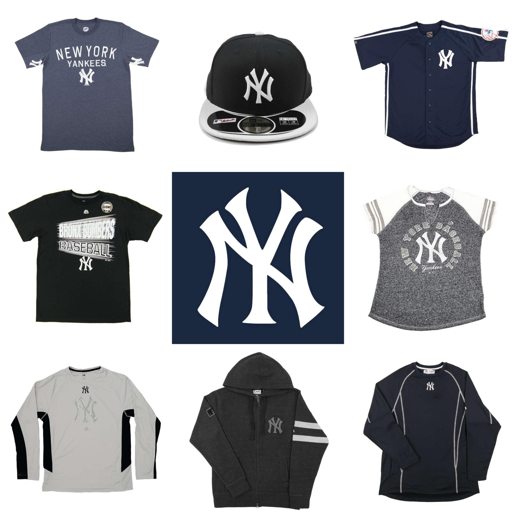 ec035bead New York Yankees Officially Licensed MLB Apparel Liquidation - 640+ Items