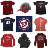 Washington Nationals Officially Licensed MLB Apparel Liquidation - 790+ Items, $36,000+ SRP!