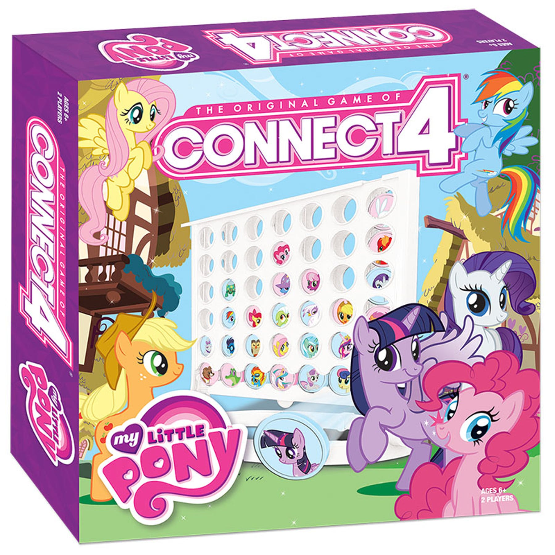 Connect 4: My Little Pony Board Game (USAopoly) | DA Card ...