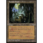 Magic the Gathering Tempest Single Ancient Tomb - MODERATE PLAY (MP)