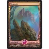 Magic the Gathering Promotional Single Basic Mountain FOIL (JUDGE) - NEAR MINT (NM)