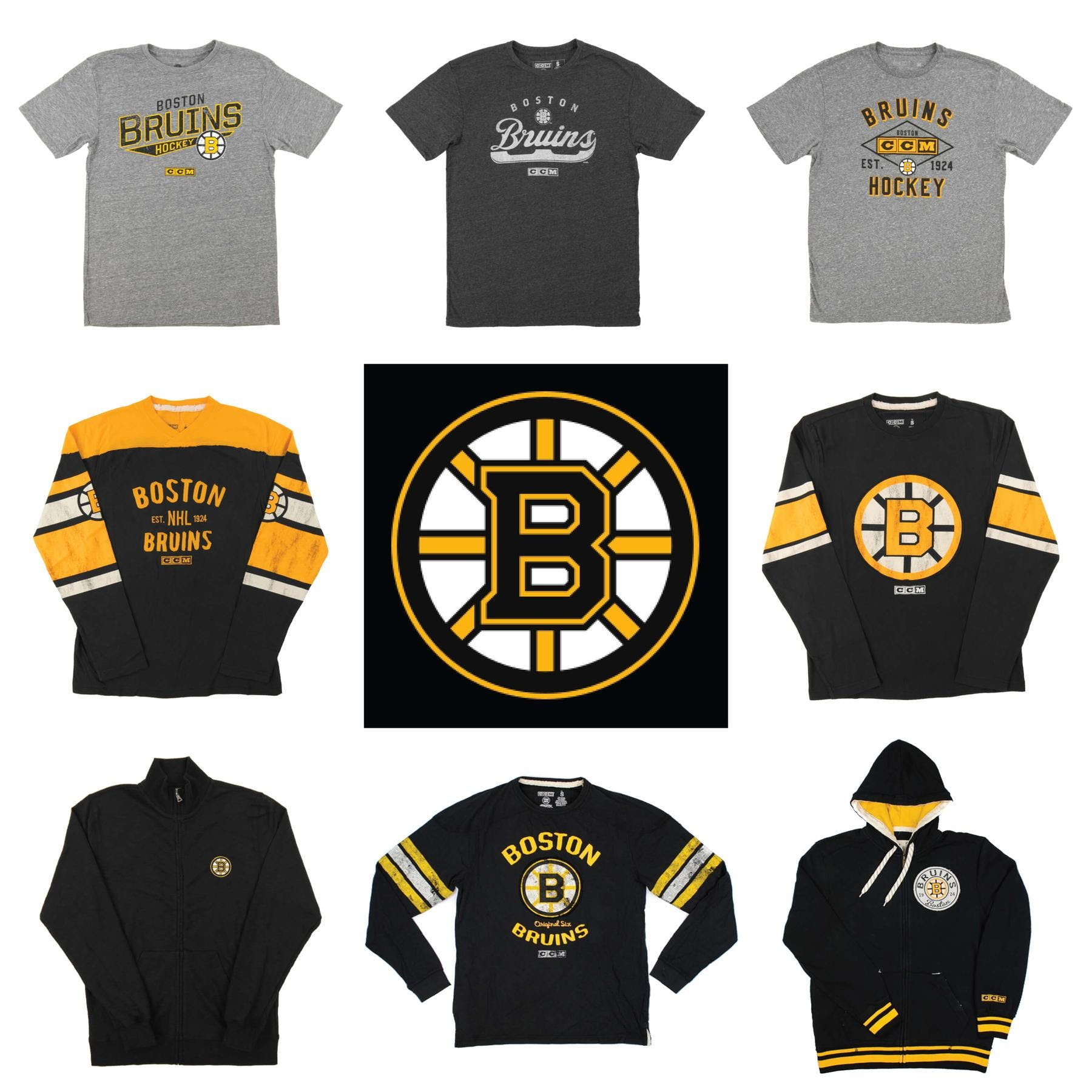 cac9b1564c9dbc Boston Bruins Officially Licensed NHL Apparel Liquidation - 4,080+ Items,  $165,000+ SRP! | DA Card World