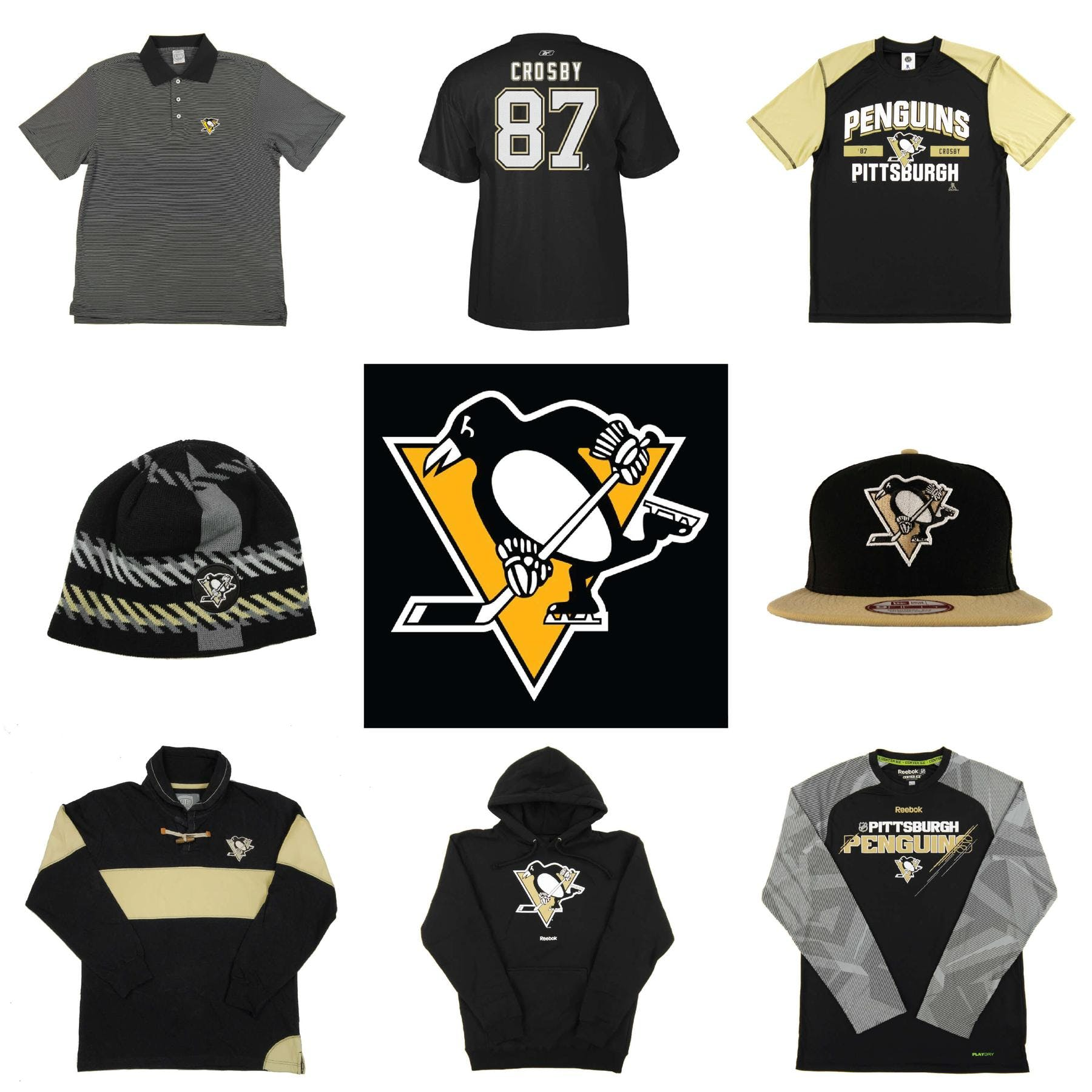 factory price 159c4 621a5 Pittsburgh Penguins Officially Licensed NHL Apparel Liquidation - 4,870+  Items,  176,000+ SRP!   DA Card World