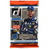 2018 Panini Donruss Racing Blaster Pack (Lot of 6)
