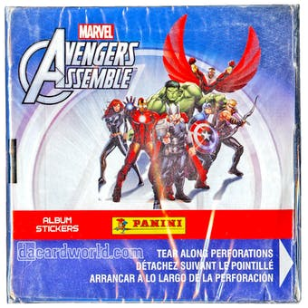 Panini Marvel Avengers Assemble Sticker 24-Box Case