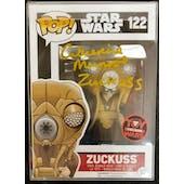 Star Wars Zuckuss Funko POP Autographed by Cathy Munroe