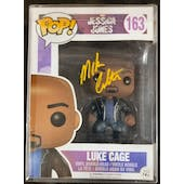 Marvel Netflix Luke Cage Funko POP Autographed by Mike Colter