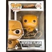 DC CW Reverse Flash Funko POP Autographed by Tom Cavanagh