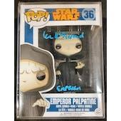 Star Wars Return of the Jedi Emperor Funko POP Autographed by Ian McDiarmid