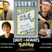 Creators & Artists of Pokemon 4X Autographed Blank Face Misprint JSA/BGS 1/1
