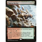 Magic the Gathering Ultimate Masters Box Topper FOIL Raging Ravine NEAR MINT (NM)