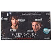 Supernatural Seasons 1-3 Trading Cards Box (Cryptozoic 2014)