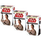Star Wars Journey to The Last Jedi 10-Pack Box (Topps 2017) (Lot of 3)