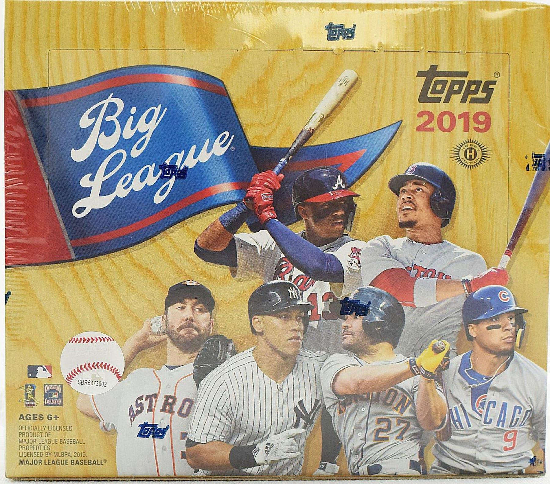 9f81dfddfa 2019 Topps Big League Baseball Hobby Box