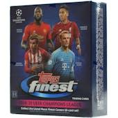 2018/19 Topps Finest UEFA Champions League Soccer Hobby Mini-Box