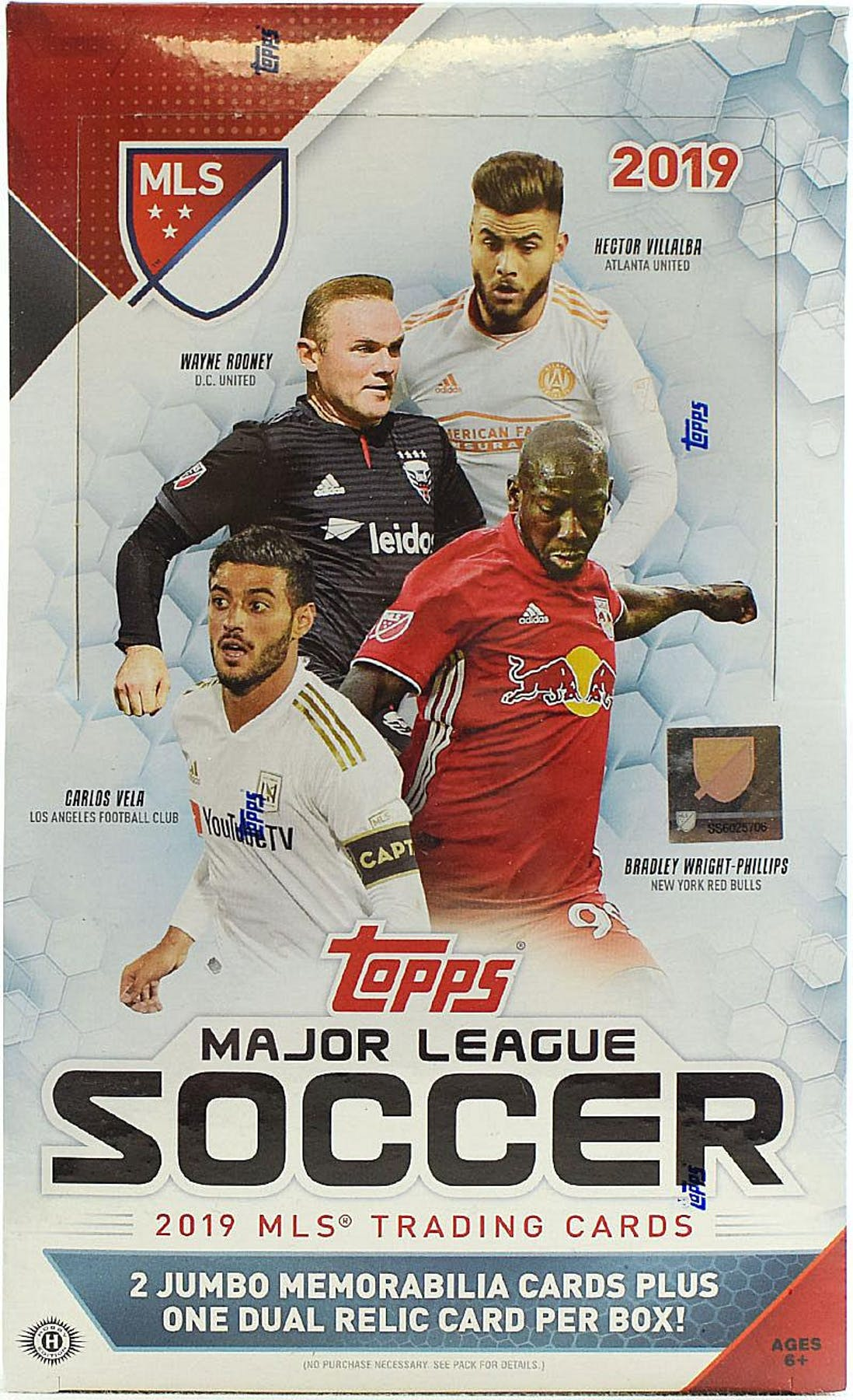 db8cd3b72 2019 Topps MLS Major League Soccer Hobby Box