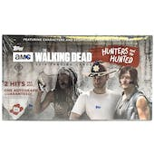 The Walking Dead: The Hunters and the Hunted Hobby Box (Topps 2018)