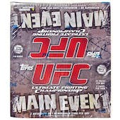 2010 Topps UFC Main Event 24-Pack Box