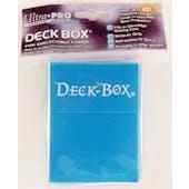 Ultra Pro Solid Lite Blue Deck Box