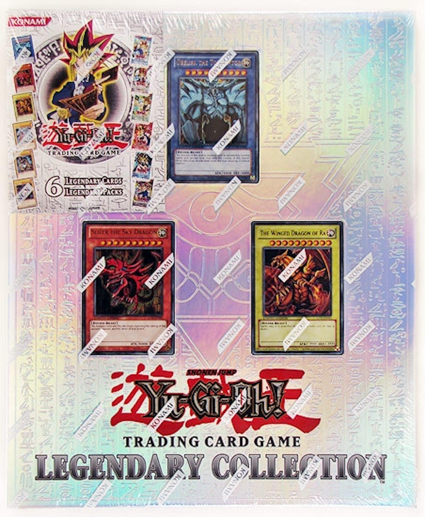 Konami Yu-Gi-Oh Legendary Collection Box