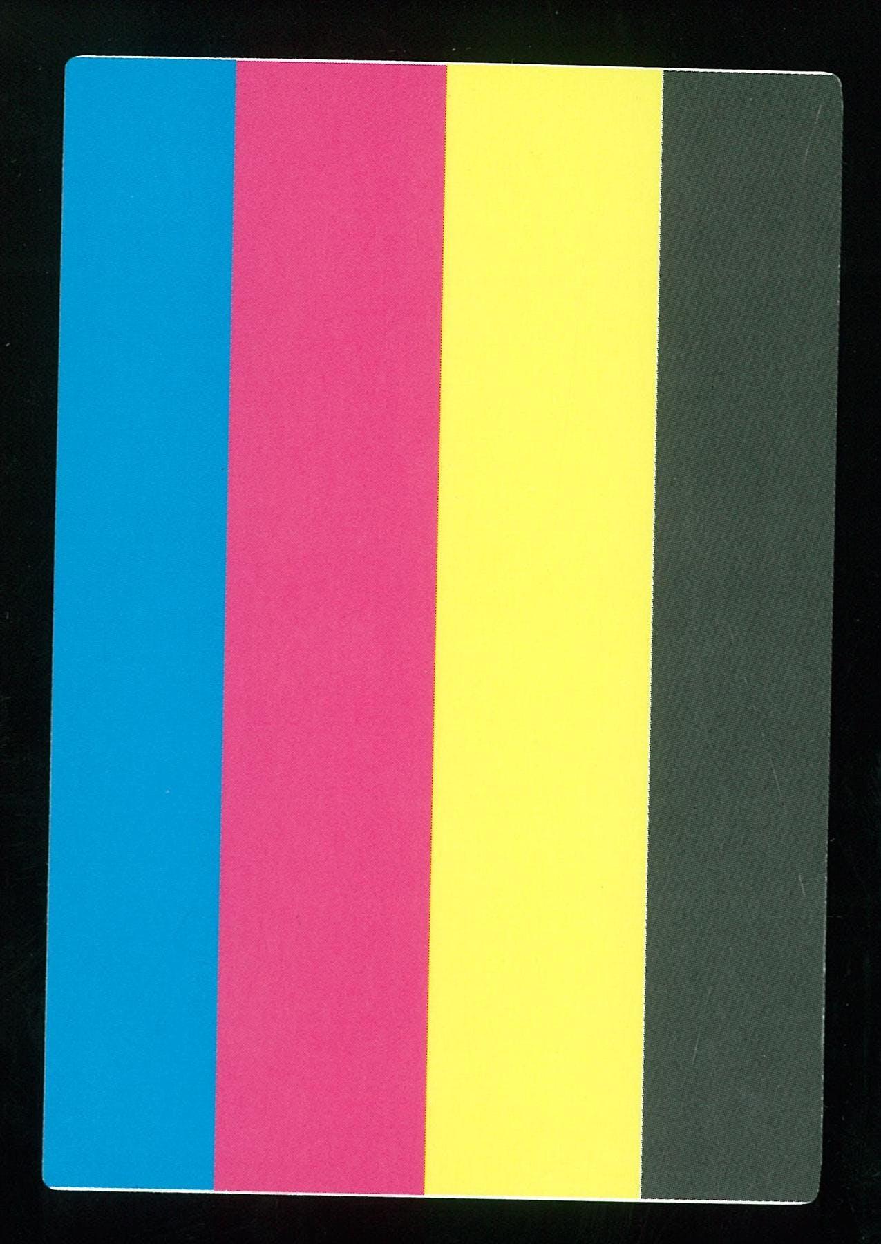 Yu-Gi-Oh Single Color Test Print - NEAR MINT (NM)